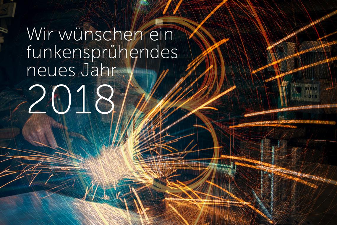 Wir wünschen Ihnen ein gutes neues Jahr 2018!   Urfer-Müpro ...